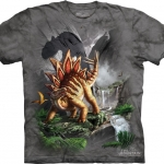 Pre.เสื้อยืดพิมพ์ลาย3D The Mountain T-shirt : Against the Wall MD