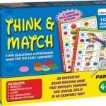 Think & Math I: จะเน้นเป็นการสังเกตุสิ่งรอบตัว เช่น ธรรมชาติ สี รุปทรง ตัวเลข สัตว์ เหมาะสำหรับเด็กอายุ 2 - 4 ปี