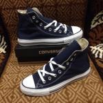 รองเท้าผ้าใบ Converse หุ้มข้อสีกรม