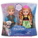 z Disney Frozen 6-inch Anna and Kristoff Toddler Doll from USA ของแท้100% นำเข้าจากอเมริกา