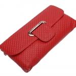 กระเป๋าคลัช แฟชั่นกระเป๋าสไตล์อิตาลี กระเป๋าหนังแท้สีแดง ยี่ห้อ TUCANO (ตรานกหัวขวาน)