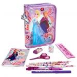 z Anna and Elsa zip-up stationery kit - Frozen from Disney USA เซ็ตเครื่องเขียนโฟรเซ่น ของแท้100% นำเข้าจากอเมริกา