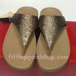 รองเท้า Fitflob Astrid Sandal หูหนีบเกล็ดเพชร สีทอง No.FF245