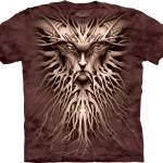 Pre.เสื้อยืดพิมพ์ลาย3D The Mountain T-shirt : Dark Roots