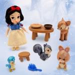 ฮ (Mini) Disney Animators' Collection Snow White Mini Doll Play Set - 5'' ของแท้ นำเข้าจากอเมริกา