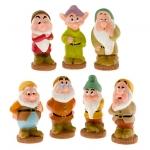 z Seven Dwarfs Squeeze Toy Set