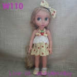 zW110 เสื้อผ้าตุ๊กตา- Disney Animators' Collection Doll - 16'' (พร้อมส่ง)