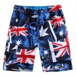 Pre-order กางเกงขาสั้น กางเกงลำลองฤดูร้อน กางเกงทะเล แฟชั่นสไตล์เกาหลี สำหรับหนุ่มไซส์ใหญ่ Blue Flag Meters