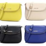 Pre-order กระเป๋าสะพายผู้หญิง หนังแท้ สไตล์ยุโรป-อเมริกา แฟชั่นมาใหม่ปี 2016 มี 4 สี เหลือง ขาว ดำ น้ำเงิน