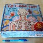 จิ๊กซอว์ the human body floor puzzle 60ชิ้น