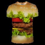เสื้อยืดพิมพ์ลาย MR.GUGU & Miss GO : Hamburger T-Shirt