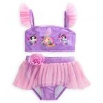 Disney Princess Deluxe Swimsuit for Girls - 2-Piece from Disney USA ของแท้100% นำเข้า จากอเมริกา
