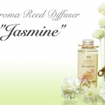 """THAI FLOWER JASMINE"" Aroma Reed Diffuser / น้ำมันหอมระเหยปรับอากาศ กลิ่นดอกมะลิไทย"