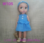W105 เสื้อผ้าตุ๊กตา- Disney Animators' Collection Doll - 16'' (พร้อมส่ง)