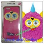 ZFB028 Furby Case iPhone5 Pink Flare ชมพูหูเหลือง