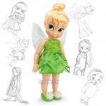 z Tinker Bell - Disney Animators' Collection Tinker Bell Doll - ตุ๊กตา 16'' (พร้อมส่ง)