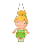 z Tinker Bell - Disney's Tinker Bell Plush Purse 8 Inch w/ Kisslock and Chain Strap (พร้อมส่ง)
