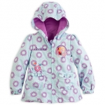 z Anna and Elsa Hooded Jacket for Girls - Frozen Size4 (3-4 Years) Disney USA แท้100% นำเข้าจากอเมริกา