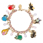 z Sleeping Beauty Charm Bracelet