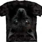 Pre.เสื้อยืดพิมพ์ลาย 3D The Mountain T-shirt : Bat Head