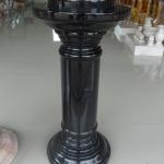 เสาโชว์ สีดำเข้ม ขนาดสูง 60 เซนติเมตร กว้าง 20 เซนติเมตร