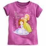 Sofia Princess and Amber Disney Tee for Girls ของแท้ นำเข้าจากอเมริกา (Size: 7/8)
