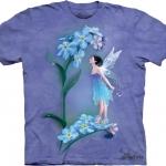 Pre.เสื้อยืดพิมพ์ลาย3D The Mountain T-shirt : Forget Me Not