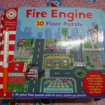 จิ๊กซอว์ fire Engine3d floor puzzle