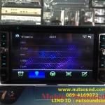 วิทยุติดรถยนต์ 2 din ขนาด 6.5 นิ้ว รุ่น K-602 พร้อมด้วย ระบบ BLUETOOTH