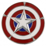 z Captain America Belt Buckle by 1928 Jewelry