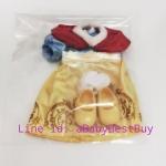 ZX106 รองเท้า และชุดเสื้อผ้าตุ๊กตาAnimator ของแท้ (Snow White เจ้าหญิงสโนว์ไวท์)