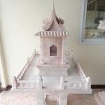 ศาลตายาย ขนาด ฐานกว้าง 60 ยาว 75 สูง 145 เซนติเมตร
