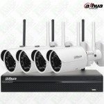Dahua WiFi Kit NVR4104HS-W-S2, IPC-HFW1320S-Wx4, WD Purple Surveillance Hard Drives 1TB