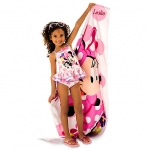 Minnie Mouse Happy Helpers Beach Towel from Disney USA ของแท้100% นำเข้า จากอเมริกา