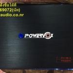เพาเวอร์แอมป์รถยนต์ 4 ch 4400W ยี้ห้อ POWERVOX