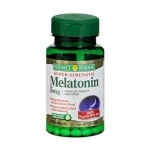 ** พร้อมส่ง ** Nature's Bounty, super Strength Melatonin, 5 mg, 90 softgel