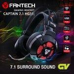 🔖 FANTECH HG-11 ระบบเสียง 7.1 🔖 ที่สุดของความแน่น ชัด ทุกทิศทาง