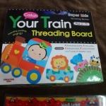 your train threading board