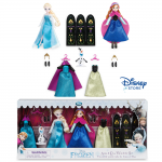 "Anna and Elsa Mini Doll Wardrobe Play Set - Frozen - 5.5"" ของแท้ นำเข้าจากอเมริกา"
