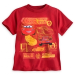 z Lightning McQueen Tee for Boys
