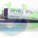 Emla Cream ครีมยาชา 30 g ประกอบ lidocain and Philocian ใช้สำหรับยาชาบริเวณผิวหนังหรือยาชาสักคิ้ว