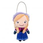 Plush Purse Anna - Frozen from Disney USA ของแท้100% จากอเมริกา กระเป๋าตุ๊กตา ปากปิ๊กแป็ก มีสายโซ่ น่ารักน่าใช้มากๆ