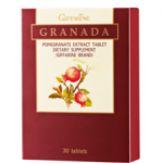 กรานาดา ผลิตภัณฑ์เสริมอาหาร สารสกัดจากทับทิม ชนิดเม็ด