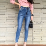 กางเกงแฟชั่น Korea style กางเกงสไตล์เกาหลีรุ่นใหม่ เอวสูง