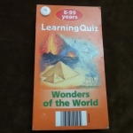 learning quiz wonders of the world
