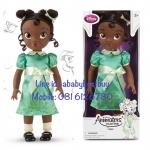 z Disney Animators' Collection Tiana Doll - 16'' รุ่นใหม่ (พร้อมส่ง) ตุ๊กตาดีสนีย์ แอนิเมเตอร์ เจ้าหญิงเทียน่า เจ้าหญิงกบ รุ่นใหม่ รุ่น2 (รุ่นสอง)