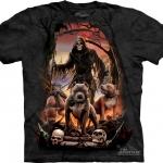 Pre.เสื้อยืดพิมพ์ลาย3D The Mountain T-shirt : Deaths Pack