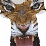 เสื้อยืดพิมพ์ลาย MR.GUGU & Miss GO : Tiger t-shirt