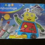 Art advantage moon walker