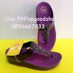 รองเท้า Fitflop New สีำม่วง No.FF462